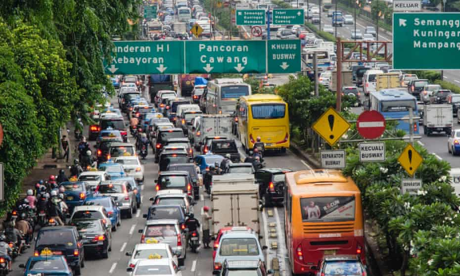 Jakarta notorious traffic jams will be a thing of the past when Indonesia moves its capital, the government hopes.