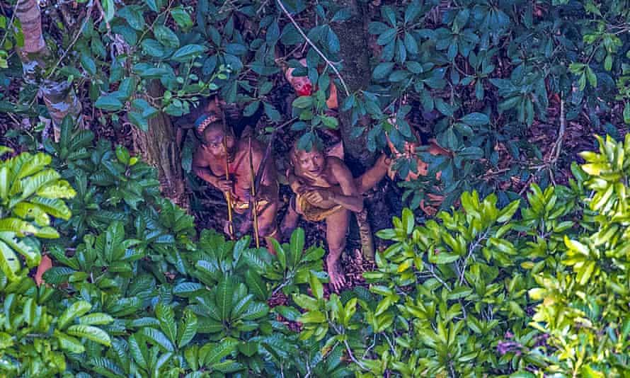 Ricardo Stuckert's photographs of an uncontacted Amazonian tribe.