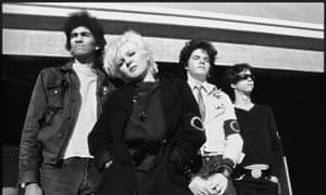 Germs, with Laura Doom front, and Darby Crash second right.