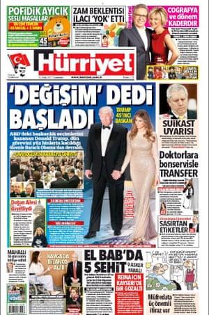 Hürriyet, Ankara