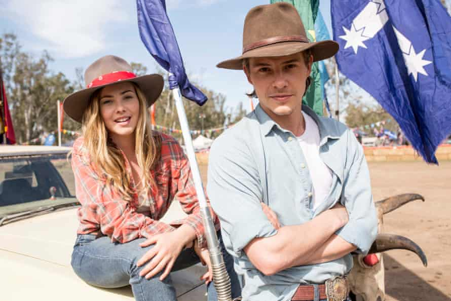 Xavier Samuel and Morgan Griffin star in Spin Out, Tim Ferguson's directorial debut