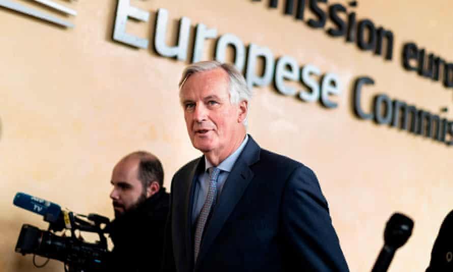 The EU's Brexit negotiator, Michel Barnier.