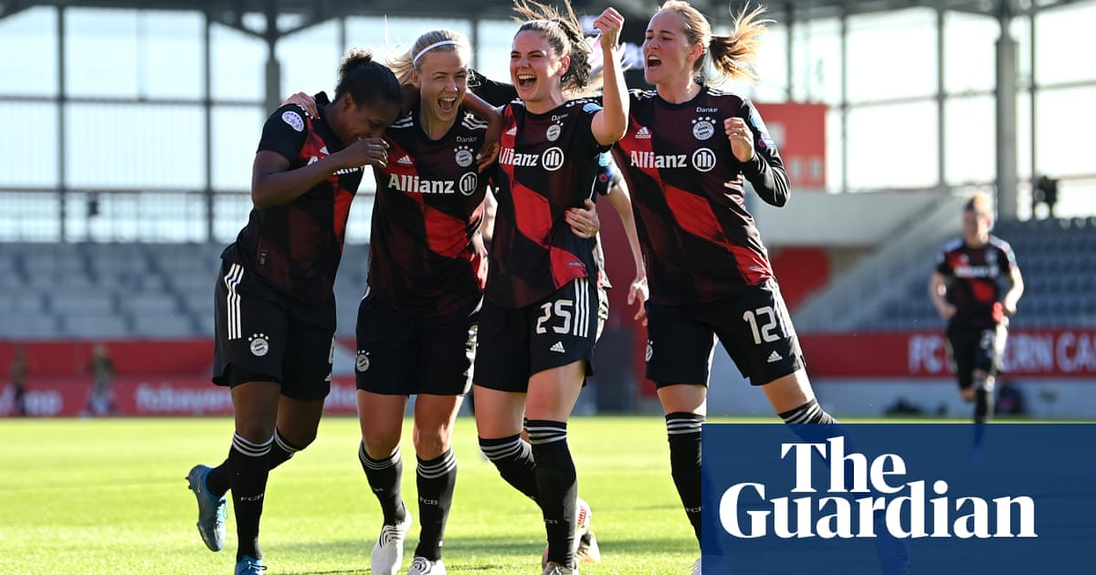Women's Champions League: Glas gives Bayern first-leg edge over Chelsea
