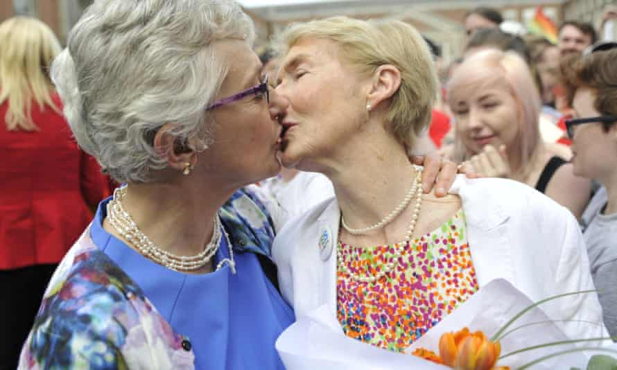 Katherine Zappone and Ann Louise Gilligan