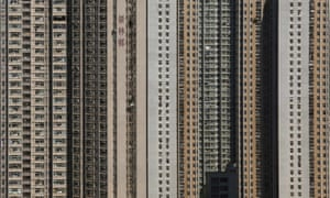 Tower blocks in Hong Kong. More than half of all the concrete ever used was produced in the past 20 years.
