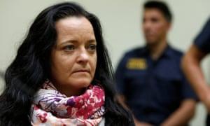 German neo-Nazi terrorist Beate Zschäpe