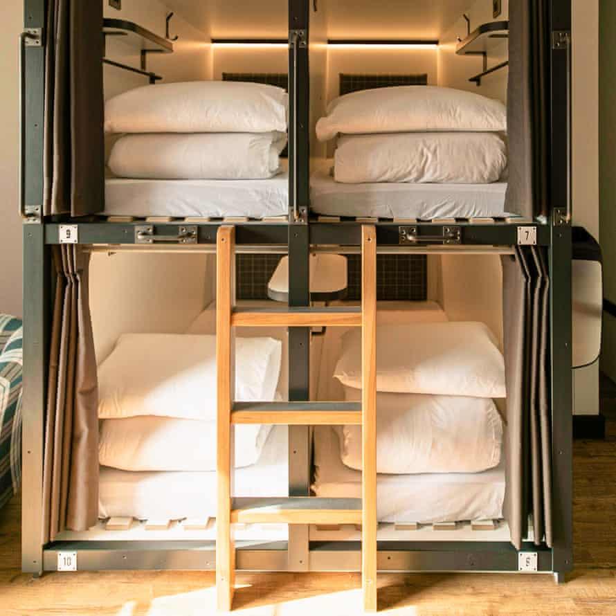 Code hostel, Edinburgh, dorm beds