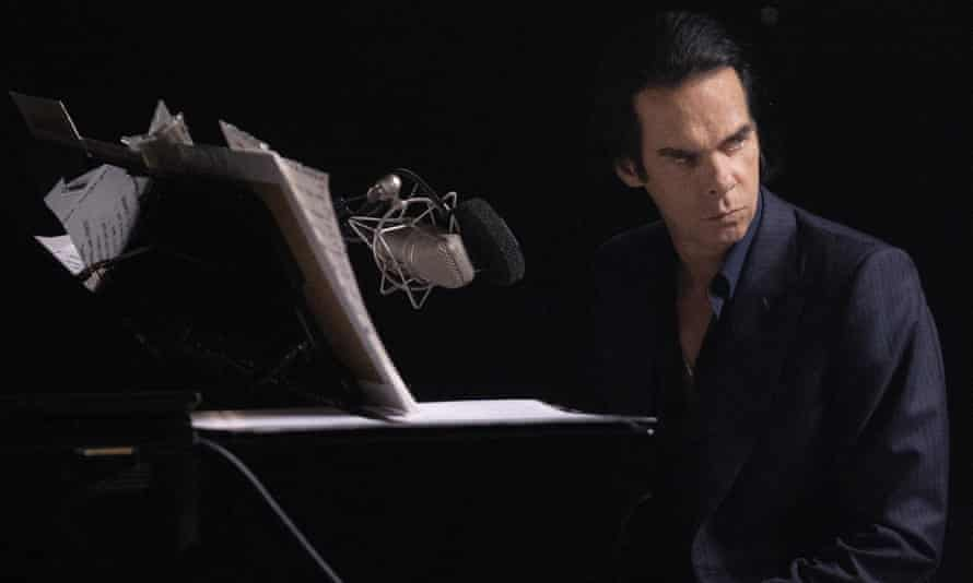 Nick Cave performing Idiot Prayer at Alexandra Palace – it is hoped that livestreamed concerts like these could help improve sustainability.