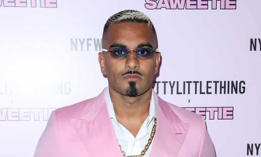 Umar Kamani at New York fashion week, September 2019.