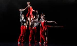 Australian Ballet company dance In The Upper Room.