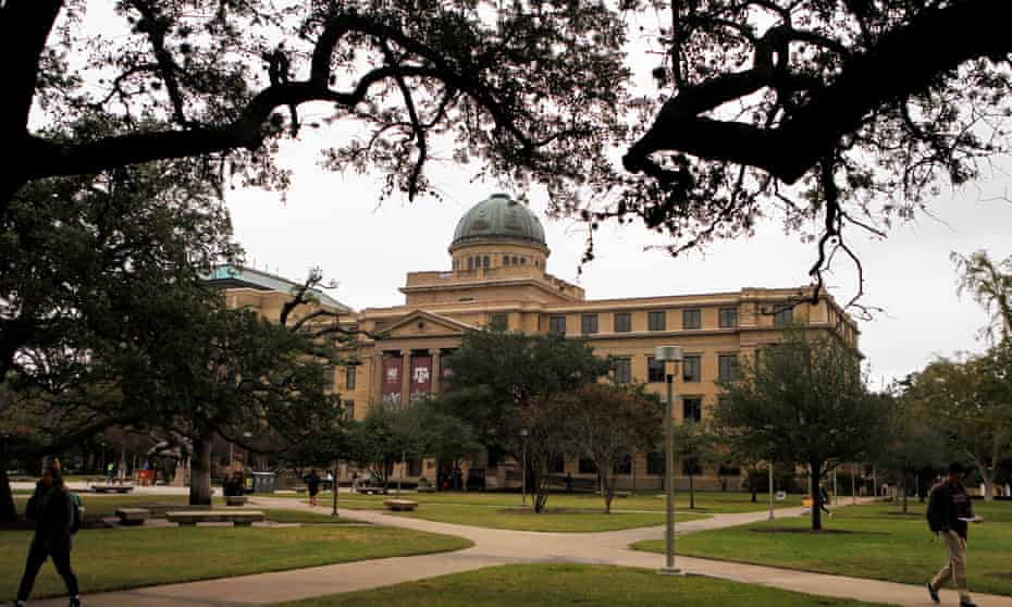 The Texas A&M University campus.