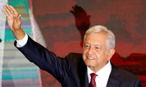 Andrés Manuel López Obrador, better known as Amlo, won a landslide victory on Sunday.