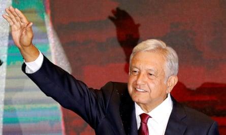 Andrés Manuel López Obrador, better known as Amlo, won a landslide victory on Sunday.