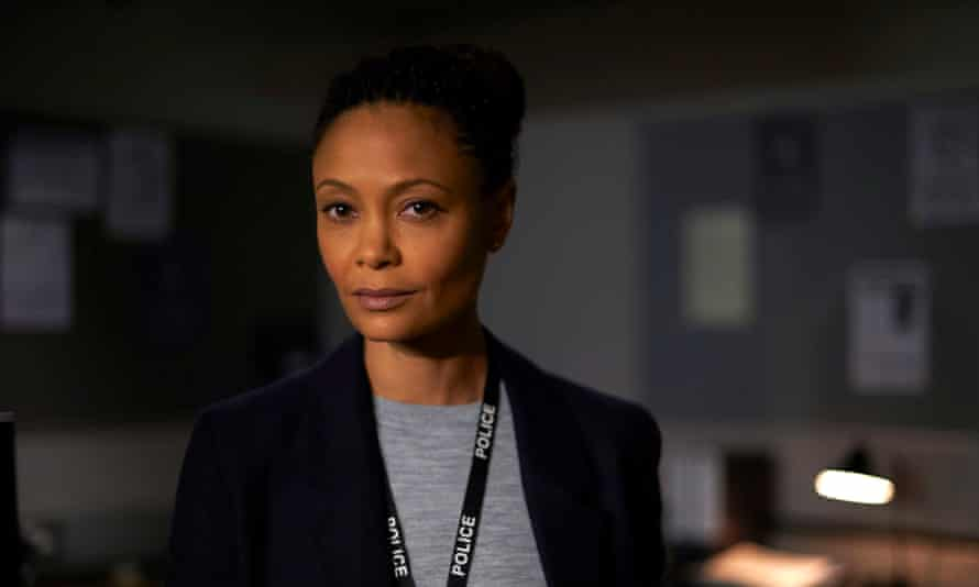 Thandie Newton in Line of Duty … plausible and watchable.