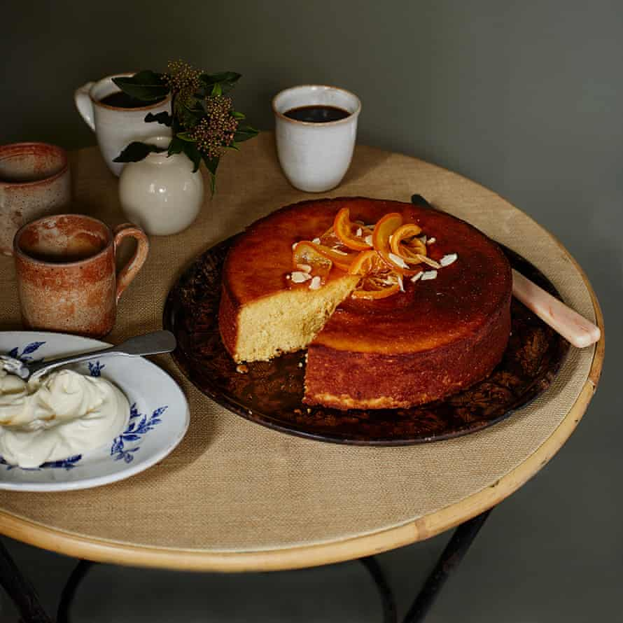 The perfect sticky orange cake.
