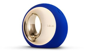 The Midnight Blue-Clitoral Vibrator by Lelo.