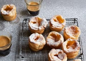 Anna Jones' vanilla and orange custard tarts.