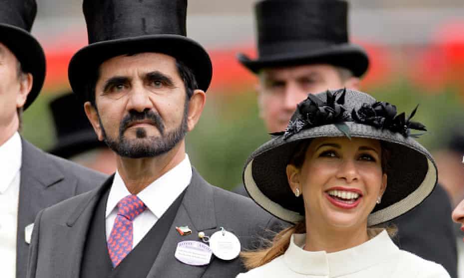 Sheikh Mohammed and Princess Haya at Royal Ascot in 2010
