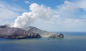 Forty-seven people were on White Island when the volcano erupted.