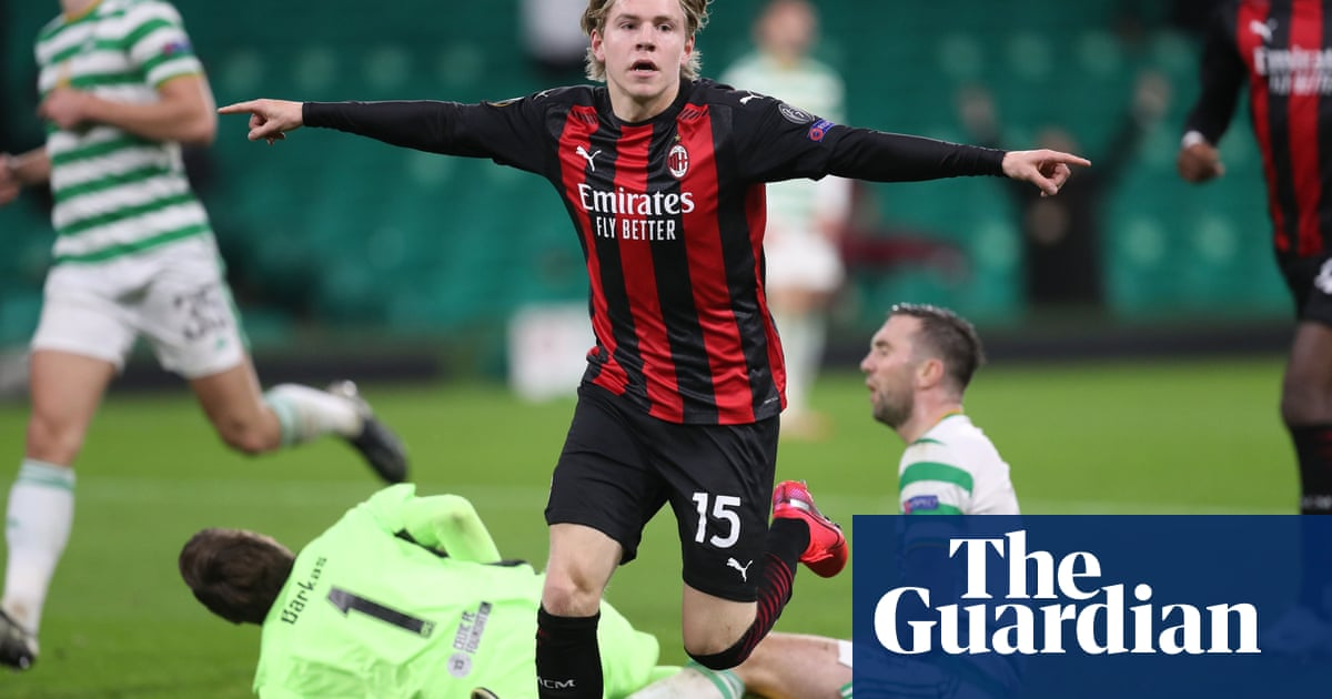Neil Lennon says Celtic deserved better after Europa League defeat to Milan