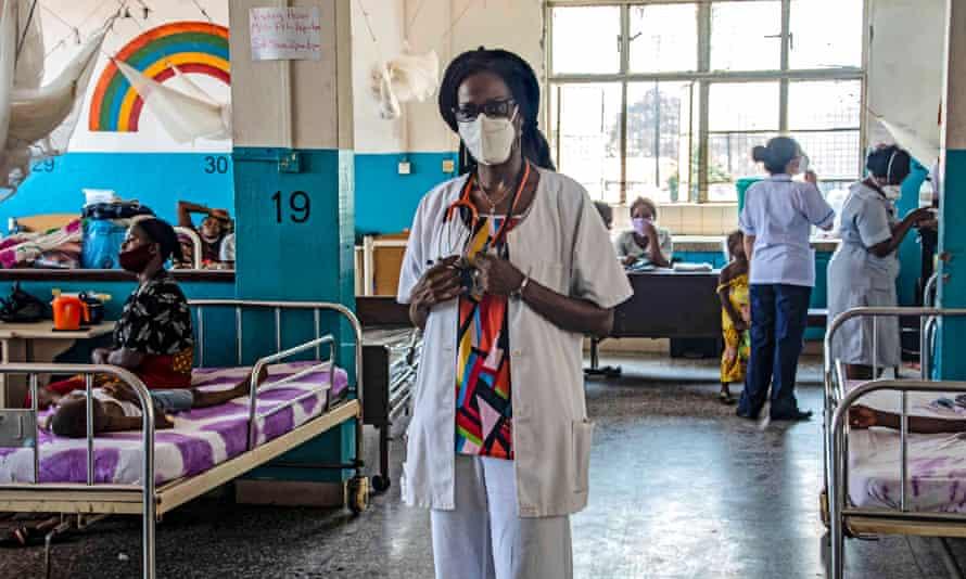Dr Nellie Bell, who became Sierra Leone's second registered coronavirus case.