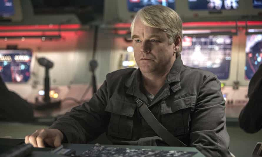 Philip Seymour Hoffman in his final Hunger Games performance.