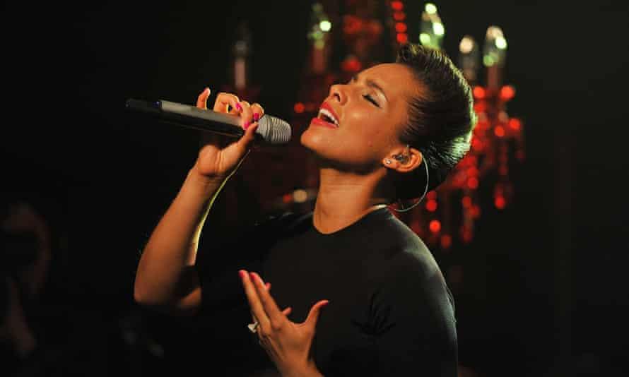 Alicia Keys: a hard act to follow.
