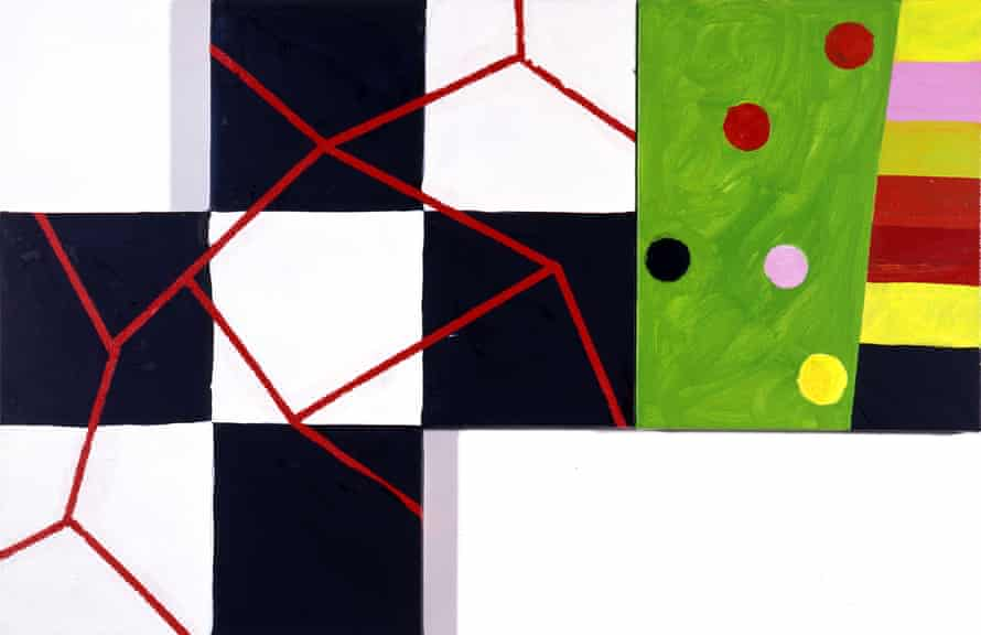 Music of the Spheres, 2001, by Mary Heilmann.
