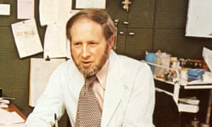 Julian Tudor Hart in his surgery in 1974. He was a staunch defender of the founding principles of the NHS