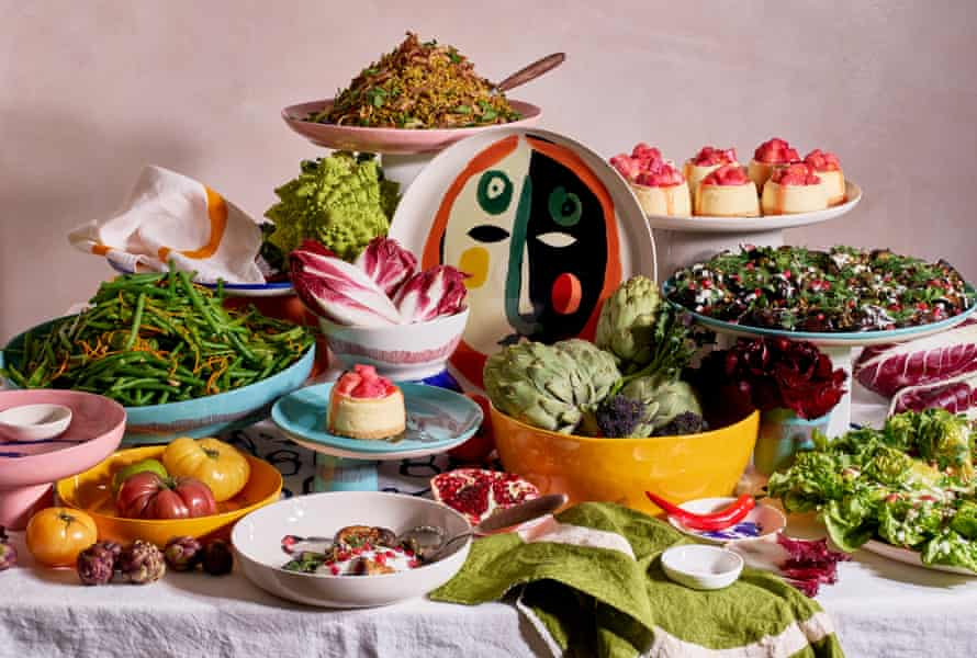 Feast - the new tableware collection from chef Yotam Ottolenghi in collaboration with artist Ivo Bisignano