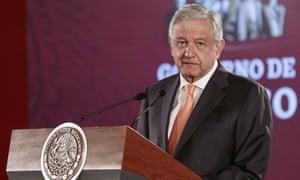 Andrés Manuel López Obrador in Mexico City, Mexico on Tuesday.