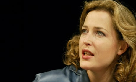 Gillian Anderson on stage – in pictures