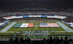 More than 75,000 fans watched the Chiefs and Chargers face off at the Azteca Stadium