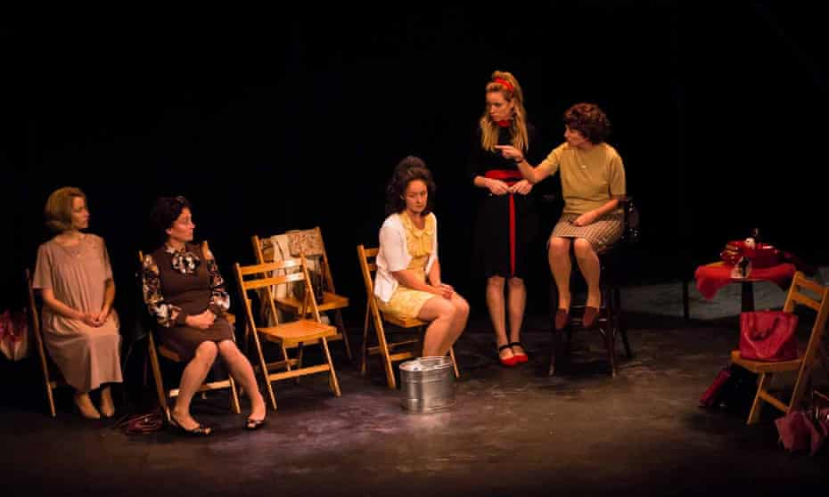 'Stupendous': Bethan Thomas, Zoe Harrison, Charlotte Gray, Antonia Kinlay and Michelle McTernan in The Revlon Girl at Assembly Roxy.