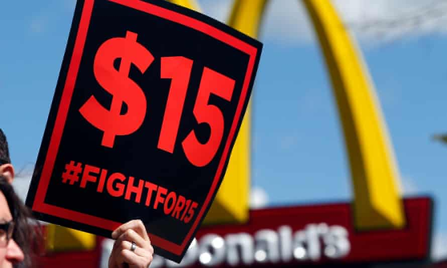 The Fight for $15 workers' rights campaign has called on McDonald's to give all workers paid sick leave in light of the coronavirus outbreak.