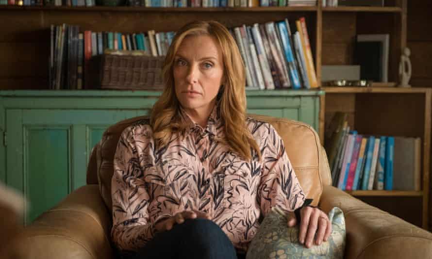 Disengaged … Toni Collette as Joy in Wanderlust.