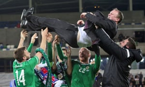 Michael O'Neill saw Northern Ireland top their qualifying group on the way to Euro 2016 – their first major tournament finals in three decades.