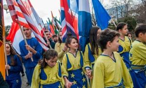 Young Kosovo Albanians