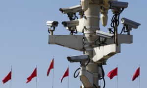 The Chinese government uses facial recognition technology in cities and even villages.