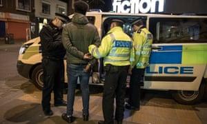 Met Police arrest young black man in Romford