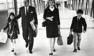 Lee Radziwill With Her Husband Stanislaw Albrecht Radziwill And Their Children Anna Christina Radziwill And Anthony Radziwill 1968.