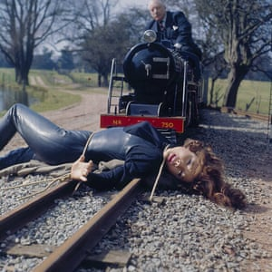 Diana Rigg in The Avengers episode The Gravediggers