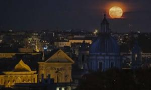 The Rome skyline.