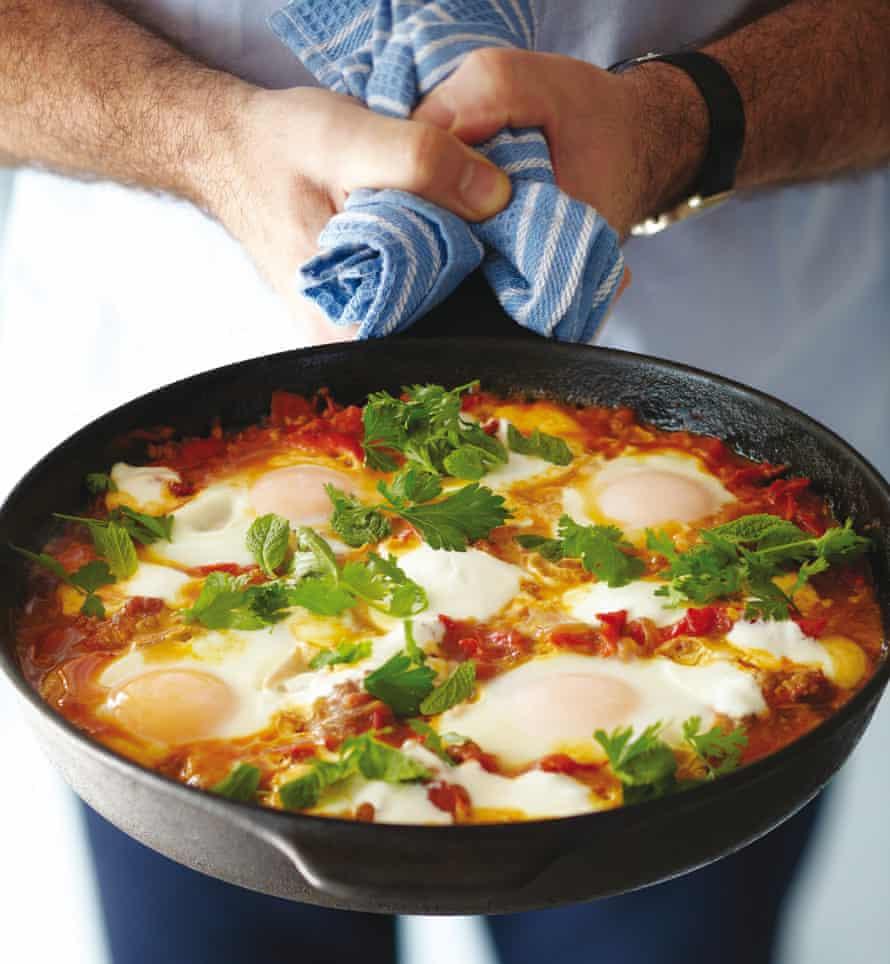 Shakshouka is a frying pan