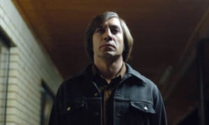 Javier Barden in No Country for Old Men.