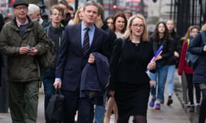 The shadow Brexit secretary, Keir Starmer, and shadow business secretary, Rebecca Long-Bailey, headed for joint Brexit talks at the Cabinet Office.