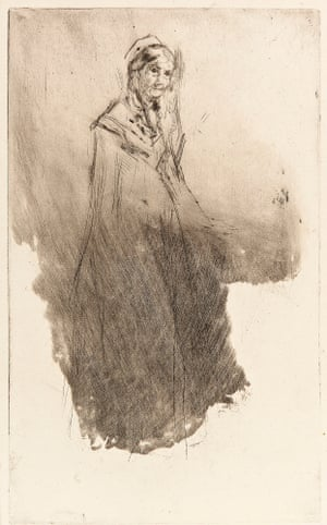 Whistler's Mother (1870–73) by James McNeill Whistler