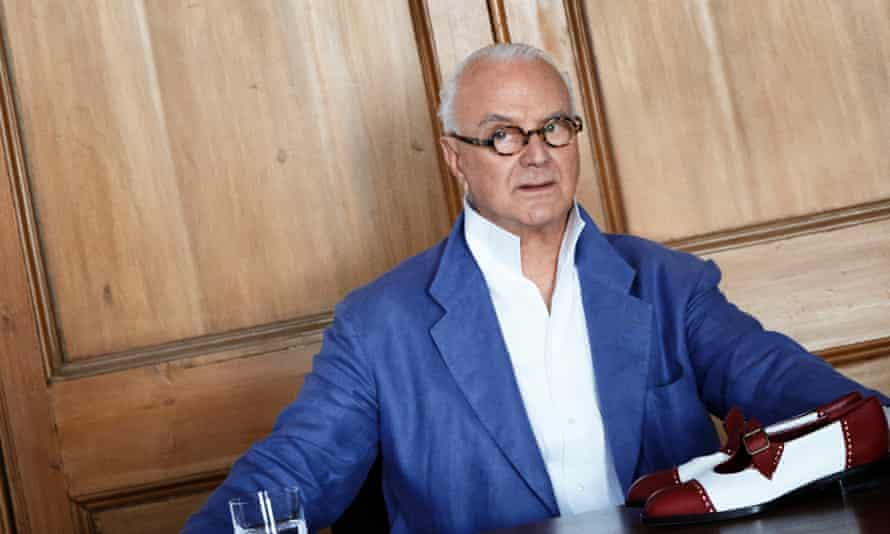 Manolo Blahnik celebrates the 50th anniversary of his eponymous brand next year.