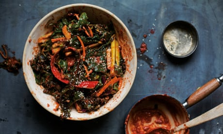 Don't bin vegetable scraps: turn them into kimchi