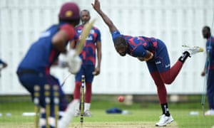 The West Indies squad and staff have taken a 50% pay cut following the coronavirus crisis.